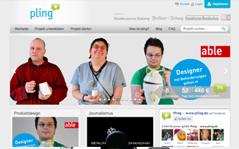 Our clients: pling.de